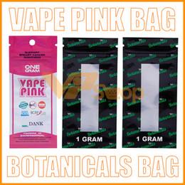 $enCountryForm.capitalKeyWord Australia - One Gram 100% Dank Vape Pink Botanicals Cartridge Package Bag Smell Proof Vapepink Bags VS Jungle Boys Runtz Cookies Zipper Bags