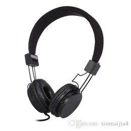 $enCountryForm.capitalKeyWord NZ - Black EP05 Portable Foldable Wired On-ear Headset Headphone with Mic for Computer PC Laptop Tablet