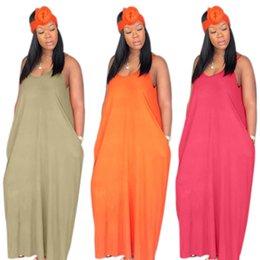 $enCountryForm.capitalKeyWord Canada - Women Summer Spaghetti Strap Maxi dresses long skirts Casual beachwear party clothes loose skirt S-XL