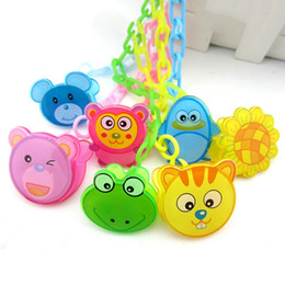 $enCountryForm.capitalKeyWord Australia - Baby Cartton Chain Soothers Chain Clip Holder Feeding Product Animal Pacifier Anti Lost