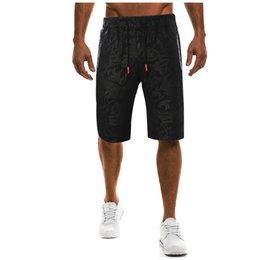 4xl Compression Shorts Australia - 2019 Mens Shorts Casual Bermuda Brand Compression Ribbon Splicing Male Cargo Shorts Men Linen Fashion Men Short Summer Linen 4XL