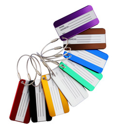 $enCountryForm.capitalKeyWord NZ - Metal Luggage Tags Aluminum Alloy Luggage Tags Travel Luggages Label Straps Suitcase Name ID Address Pet Tags Bag Parts Accessorie GGA1692