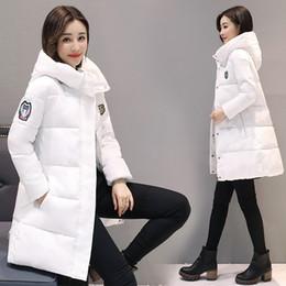 $enCountryForm.capitalKeyWord Australia - New women winter hooded warm coat plus size cotton padded jacket female long parka womens wadded Coat