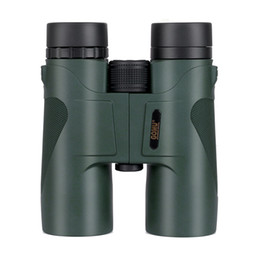 night vision monocular waterproof NZ - Gomu 10x42 Binoculars Waterproof Fully Multi Coated Tourism Telescope Bak4 Prism High Power Lll Night Vision Hunting Spyglass T191014