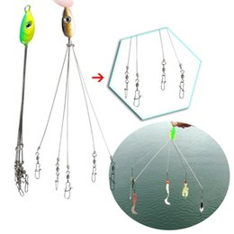 Saltwater rigS online shopping - 5 Color Fishing Hook Combinations Convenient Outdoors Fish Lures Multifunctional Fishing Tackle Combination fishing Rigs Swivel