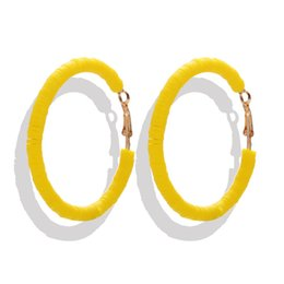 $enCountryForm.capitalKeyWord UK - Oversized candy color hoop earrings fashion jewelry engagement gift for women free shipping good quality total 3 colors