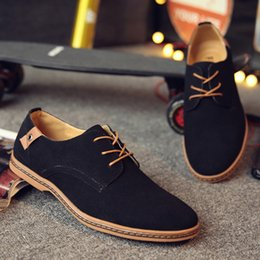 Italian Dress Shoes For Men NZ - 2019 oxford shoes for men moccasin hommes mariage heren schoenen italian genuine leather suede formal shoes mens pointed toe dress shoes man