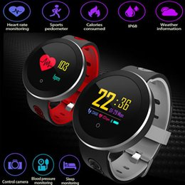 $enCountryForm.capitalKeyWord NZ - Usb Charging Smart Watch Men Health Management Smart Wristband Heart Rate Fitness Tracker For Android Ios Electronic Wrist Watch Y19051603