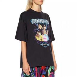 $enCountryForm.capitalKeyWord Australia - High version of retro rock band portrait print loose version of round neck short-sleeved T-shirt for both men and women