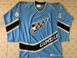 779e5717d91 44 Richard Zednik 32 Dale Hunter 68 Jaromir Jagr 55 Sergei Gonchar  Washington CAPITALS Vintage Starter Hockey Jersey