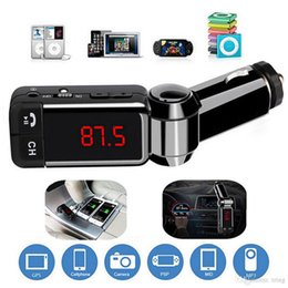 New FM Transmitter Aux Modulator Bluetooth Handsfree Car Kit Car Audio MP3 Player with Charge Dual USB Car Charger on Sale