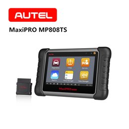 Key Lcd Australia - AUTEL MaxiPRO MP808TS OBD2 Scanner Automotive Diagnostic Tool SRS TPMS Programming Swift Diagnosis 7-inch LCD Code Reader