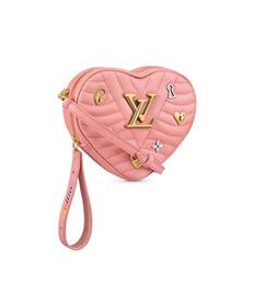 Acrylic Hearts Beads Australia - 2019 M53205 Heart Bag New Wave WOMEN HANDBAGS ICONIC BAGS TOP HANDLES SHOULDER BAGS TOTES CROSS BODY BAG CLUTCHES EVENING