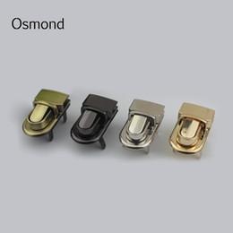 Metal Turnings Australia - Osmond Metal Turn Twist Locks For Handbag DIY Twist Clasp Closure Lock Purse Hasp Lock Metal Replacement Bag Accessories