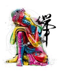 Chinese  Colourful Buddha (Buddhist Mandala) Art Silk Print Poster 24x36inch(60x90cm) 016 manufacturers