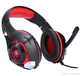 headphones for xbox Canada - New EACH GS400 Gaming Headset Gamer casque 3.5mm Stereo Headphones with Microphone for smartphone Laptop PS4 Gamepad New Xbox One GM-1