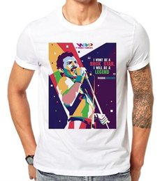 df21e9462 Freddie Mercury Funny Mens T Shirts Summer Short Sleeve Men's T-shirt  Harajuku O-Neck White Tshirt Fashion Summer Tops