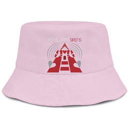 China Pearl Jam red pink men fisherman bucket sun hat cool sports custom unique classic bucket suncap supplier custom hats visors suppliers