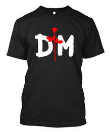 $enCountryForm.capitalKeyWord UK - Depeche Mode NEW White - Custom Men's Black T-Shirt Tee