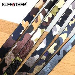 GUFEATHER P69 / 10MM PU Camouflage Lederband / Schmuckzubehör / Schnur / Armbandzubehör / DIY Schmuckzubehör