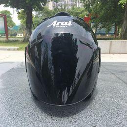 venda por atacado 2018 Top quente ARAI capacete capacete da motocicleta metade casque cara aberta capacete capacete motocross SIZE: M L XL XXL