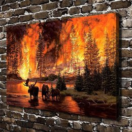 $enCountryForm.capitalKeyWord Australia - Legacy Deer Animal,Home Decor HD Printed Modern Art Painting on Canvas (Unframed Framed)