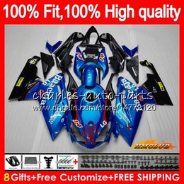 Injection For Aprilia RS-125 RS4 RS125 06 07 08 09 10 11 glossy blue 69HC.15 RS125R RSV125 RS 125 2006 2007 2008 2009 2010 2011 OEM Fairing on Sale