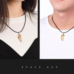 $enCountryForm.capitalKeyWord Australia - Men's Wolf Tooth Necklace Crystal Natural Stone Pendant Women Fashion Jewelry Gift Unisex Necklace Wholesale