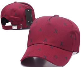 af2ea13f32a21 Nueva moda rara AX sombreros Marca Hundreds Tha Alumni Strap Back Cap  hombres mujeres hueso snapback Panel ajustable Casquette golf deporte  béisbol gorra