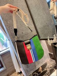 Discount laser beads - 2019 new fashion colorful laser jelly bag shoulder messenger bag transparent color handbag