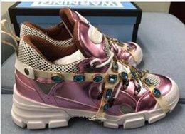 wholesale alta qualidade francês paris camurça homens de couro sapatos casuais de alta top moda tênis de luxo arena sapatos xyh18663 em Promoção