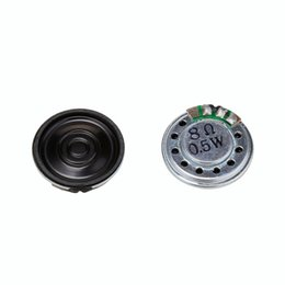 Discount 8ohm speakers 2PCS Dia. 40 20mm 8Ohm 0.5W Audio Speaker Stereo Woofer Loudspeaker Trumpet Horn Buzzer DIY Electronic Accessories