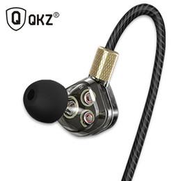 Speaker Ear Australia - Earphone QKZ KD6 in Ear Sports Earphone HiFi subwoofer with 6 speaker units 3 drivers noise cancelling fone de ouvido kulaklik