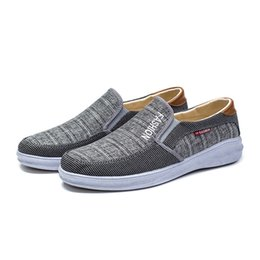 Fashion Style Cheap Shoes Men Breathable Casual Shoes Soft Comfortatble Slip-on Driving Moccasin Man Flats Summer Canvas Cozy Vulcanized Shoes Superior In Quality