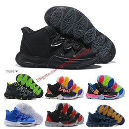 d102d26fbcc Free Shipping Hot Kyrie 5 Black Magic Outdoor Shoes For Sale Top quality Kyrie  Irving Store Men Sports Kyrie 5 Sneakers Size 7-12