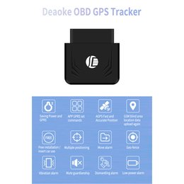 Gps Gsm Tracking Australia - TK306 OBD GPS Tracker Car GSM Vehicle Tracking Device OBD2 16Pin Interface Real Time GPS Locator Mobile Alarm GPS Trackers
