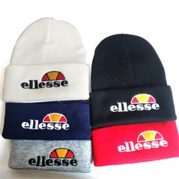 22166e47821 silk cashmere yarn 2019 - Ellesse Hat Fashion Brand Winter Casual  KnittedFor Men And Women Letter