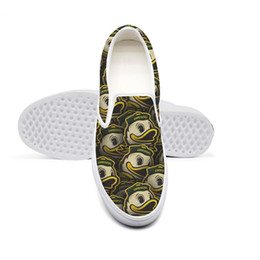 White duck cloth online shopping - Oregon Ducks football LOGOMen s casual non slip sports shoes design cloth limited edition hip shoes