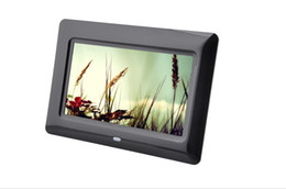 $enCountryForm.capitalKeyWord Australia - 7 inch digital photo frame Auto Play OEM and ODM service Video Player Multifunction products