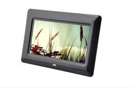 7 pulgadas marco de fotos digital de reproducción automática de servicios OEM y ODM productos Reproductor de vídeo multifunción en venta