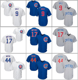 2144f7c70 Cheap Cool Baseball Jerseys Australia - Men Chicago Cheap Cubs Kyle 12  Schwarbers Kris 17 Bryant