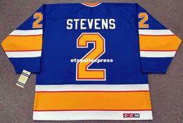 $enCountryForm.capitalKeyWord Australia - custom Mens SCOTT STEVENS St. Louis Blues 1990 CCM Jerseys Vintage Cheap Retro Hockey Jersey