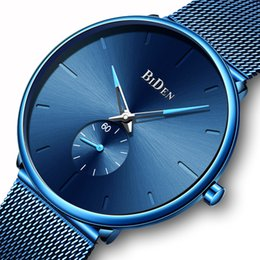 $enCountryForm.capitalKeyWord Australia - Women's Watches BIDEN Fashion Women Watches Top Brand Luxury Quartz Watch Men Casual Slim Mesh Steel Date Waterproof Wristwatches Male Clock