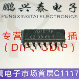 electronics transistors UK - YM3615B , dual in-line 16 pin dip package, Integrated Circuit   Electronic Component   YM3615 , PDIP16 . IC