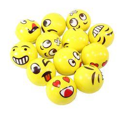 Squeezing Balls Free Australia - 36pcs squeeze jumbo squishy yellow ball 10cm,7.6cm, Soft PU toy slow rising squishy food kids gift wholesale free shipping