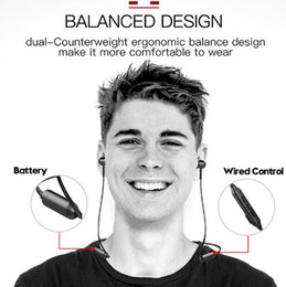 Neckband Stereo Bluetooth Earphones Australia - covert Baseus S06 Neckband Bluetooth Earphone Wireless earphones For Xiaomi iPhone earbuds stereo auriculares fone de ouvido with MIC