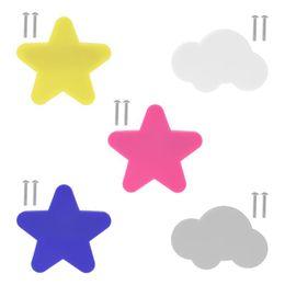 $enCountryForm.capitalKeyWord Australia - New Children Cartoon Handle Star Cloud Shape For Door Cabinet Drawer Anti-collision Grip Handles