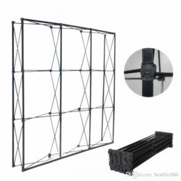 supplies for party decoration Australia - 2.3MX2.3M Wedding Flower Wall Stand Black Iron Folded Pipe Flower Frame For Wedding Party Decoration Supplies ALFF