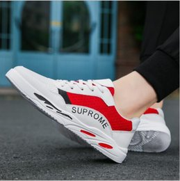 korean rubber shoes trends UK - Autumn breathable white shoes men's casual shoes Korean version of the trend canvas boys wild tide models