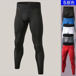 3ae40e108 2019 new Brand Gyms Clothing Muscle Joggers Pants Men Compression Tights  Sweatpants Bodybuliding Fitness Leggings Pantalones Hombre